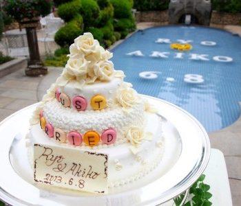 お誕生日のゲストに似顔絵ケーキをサプライズプレゼント