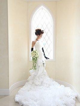 大人花嫁には着てほしい!【人気マーメイドドレス】
