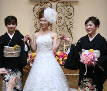 【素敵なお色直し中座】~ふたりのお母さんと花嫁~