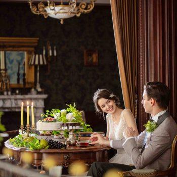 【NEW提案】<br>欧風洋館で美食ウェディング<br>ご家族との少人数お食事会プラン