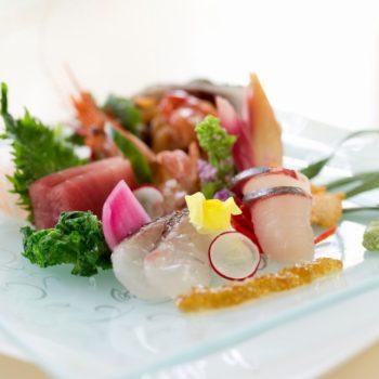 駿河湾の新鮮な魚介類をふんだんに