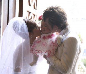 みんなが笑顔になれるご出産後の結婚式