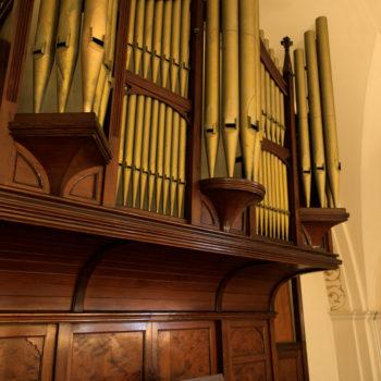 大聖堂に響き渡るパイプオルガン