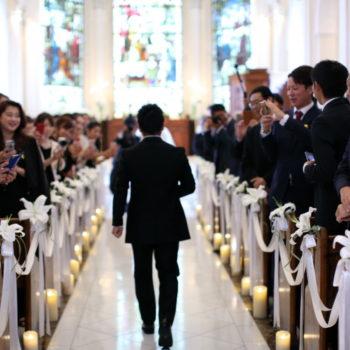 【新郎限定】結婚式の幸せは・・・
