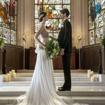 よりウェディングドレス姿が美しく見える大聖堂