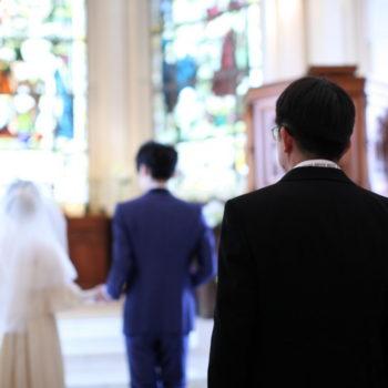 あなたは誰のために結婚式をしますか?