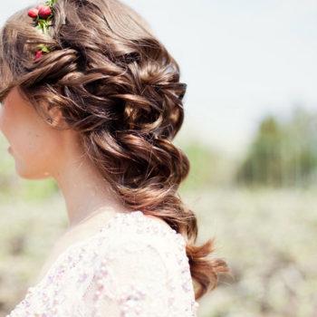 ウェディングドレスのヘアスタイル!!<br>~ダウン編~