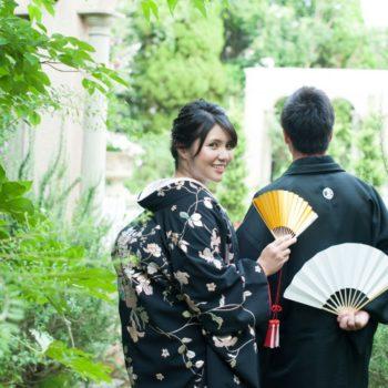 エスプリでは和装の前撮りも魅力!!